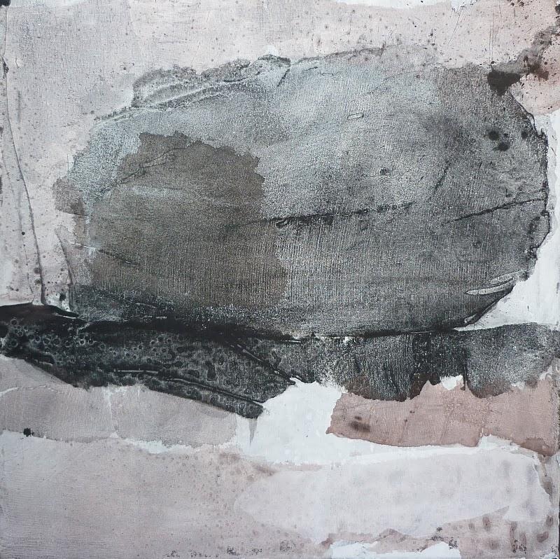 bismuth 70x70 technique mixte sur toile